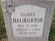 Gladys <I>Jett</I> Haliburton