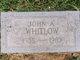 John A. Whitlow