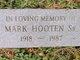 Mark Hooten, Sr