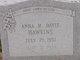 Anna M. <I>Davis</I> Hawkins