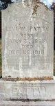 Levi Washington Patty