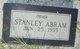 Profile photo:  Stanley Abram