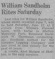 William Sandholm
