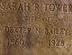 Sarah R <I>Tower</I> Bailey