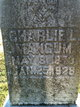 "Charles Lucas ""Charlie"" Mangum"