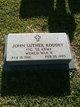 PFC John Luther Roddey