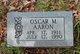 Profile photo:  Oscar M. Aaron