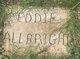 Profile photo:  Eddy A. Allbright