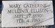 """Mary Catherine """"Kate"""" <I>Mullinax</I> Ellison"""