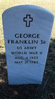 Profile photo:  George Franklin