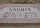 """Chester Allen """"Chet"""" Gaumer"""