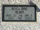 Alice Mae <I>Gulick</I> Albin
