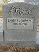 Profile photo:  Barbara A. <I>Bush</I> Boswell
