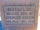 Bertha Lois <I>Acorn</I> Green