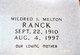 Mildred Inez Ranck