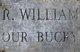 """Rhodes William """"Bucky"""" Weyant"""
