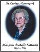 Marjorie Isabelle Fossum-Sullivan