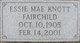 Essie May <I>Knott</I> Fairchild