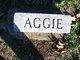 Profile photo:  Aggie Boals