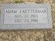 Profile photo:  Adam J. Ketterman