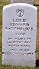 Profile photo:  Leslie Edward Batchelder