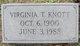Virginia T. Knott