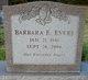 Profile photo:  Barbara E Evers
