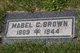 Profile photo:  Mabel C Brown