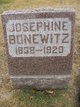 Profile photo:  Josephine <I>Smith</I> Bonewitz