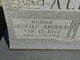 Myrtle <I>Arnold</I> Allen