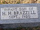 Profile photo:  Infant son Brazzell
