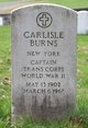 CPT Carlisle Burns