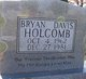 Bryan Davis Holcomb