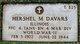 PFC Hershel Maynard Davars