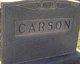 Elizabeth Carson