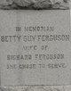 Betty Guy Ferguson