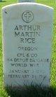 Profile photo:  Arthur Martin Rice