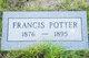 Profile photo:  Frances Potter