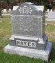 Profile photo:  Alice O <I>Brackett</I> Hayes