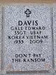 Gale Edward Davis