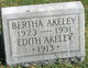 Profile photo:  Bertha Eleanor Akeley