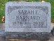Profile photo:  Sarah Elizabeth <I>Fuller</I> Barnard