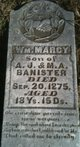 William Marcy Bannister