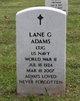 Lane G Adams