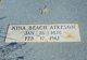 Nina Bernice <I>Beach</I> Atkeson