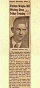 Vernon Wayne Hill