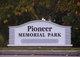 Pioneer Memorial Park