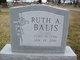 Profile photo:  Ruth Augusta <I>Pratt</I> Balis