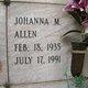 Johanna Mae Allen