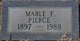 Mable F Pierce